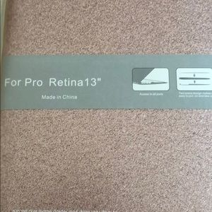 """Other - MacBook Pro Retina 13"""" hard cover for computer"""